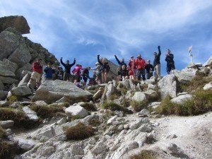walkers on the Tour of Mount Blanc